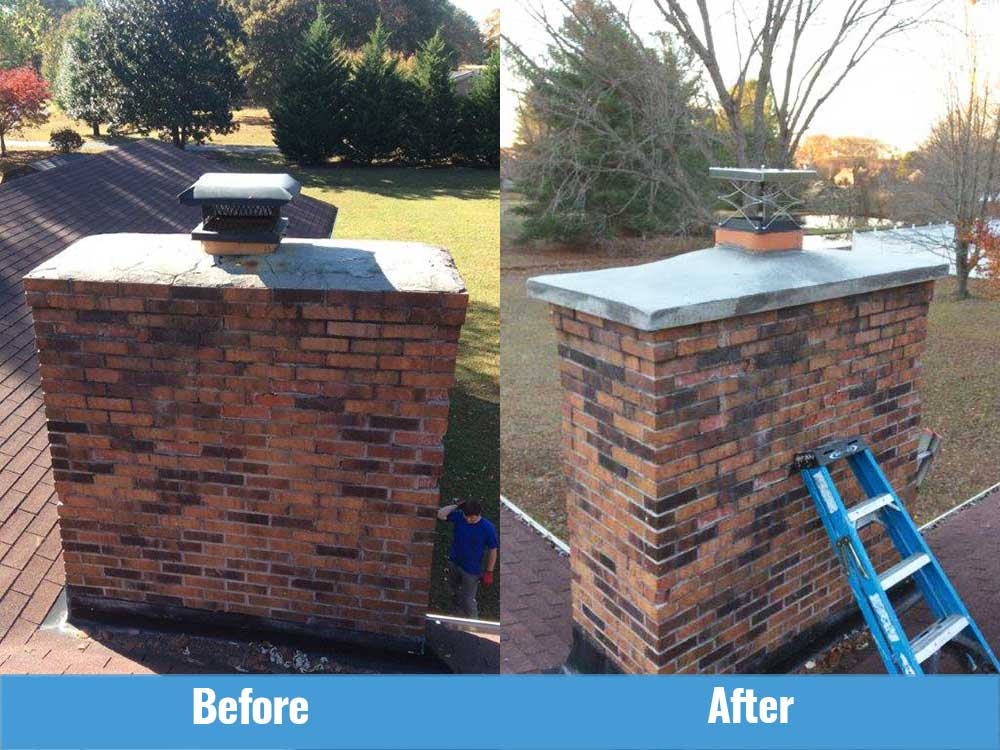 before and after crown and cap installation in McMinnville TN